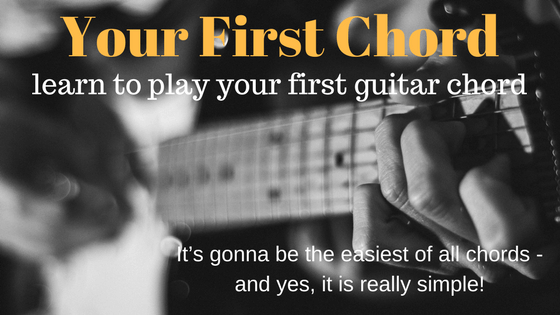 Your First Chord